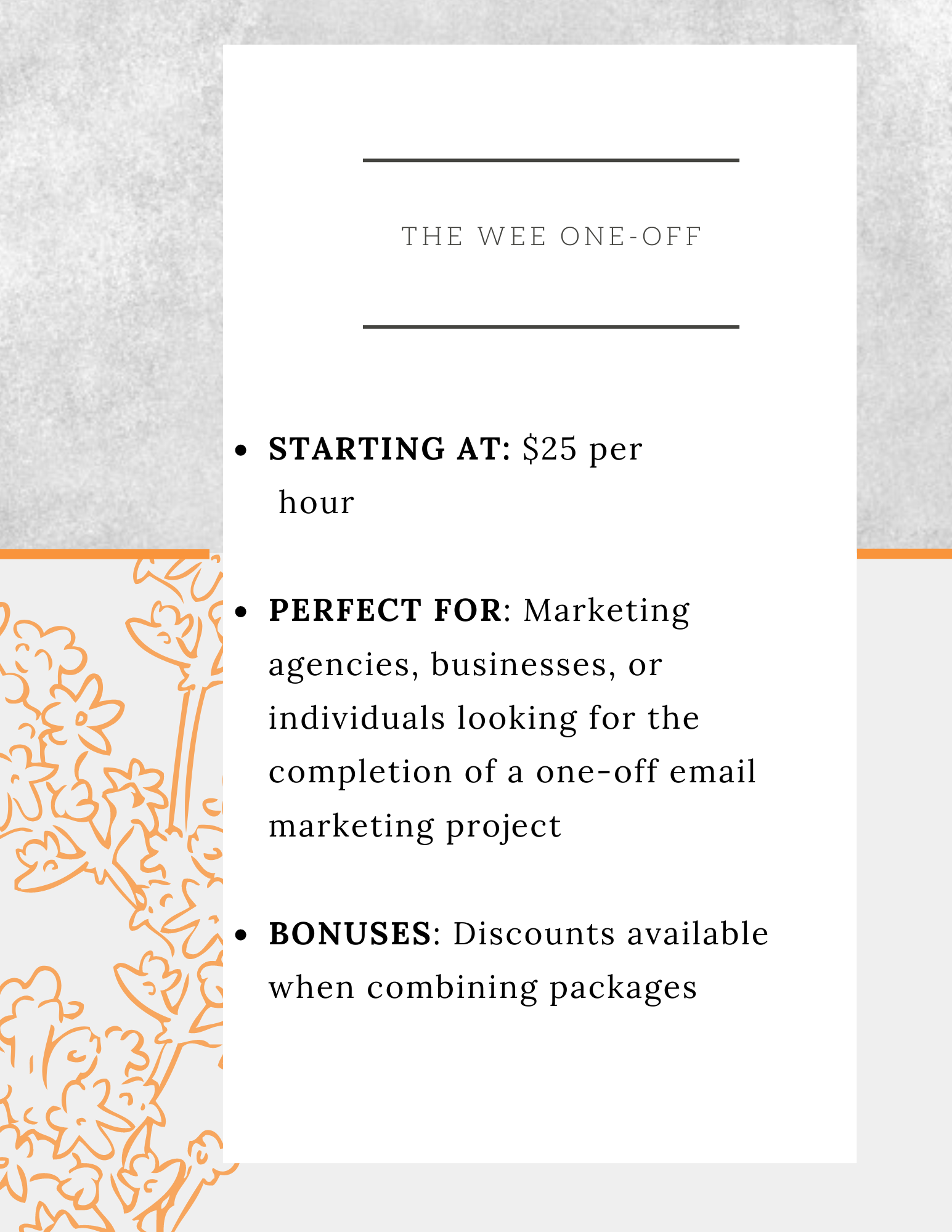 The Wee Writer, Emma Sloan: email marketing solutions in Victoria, B.C